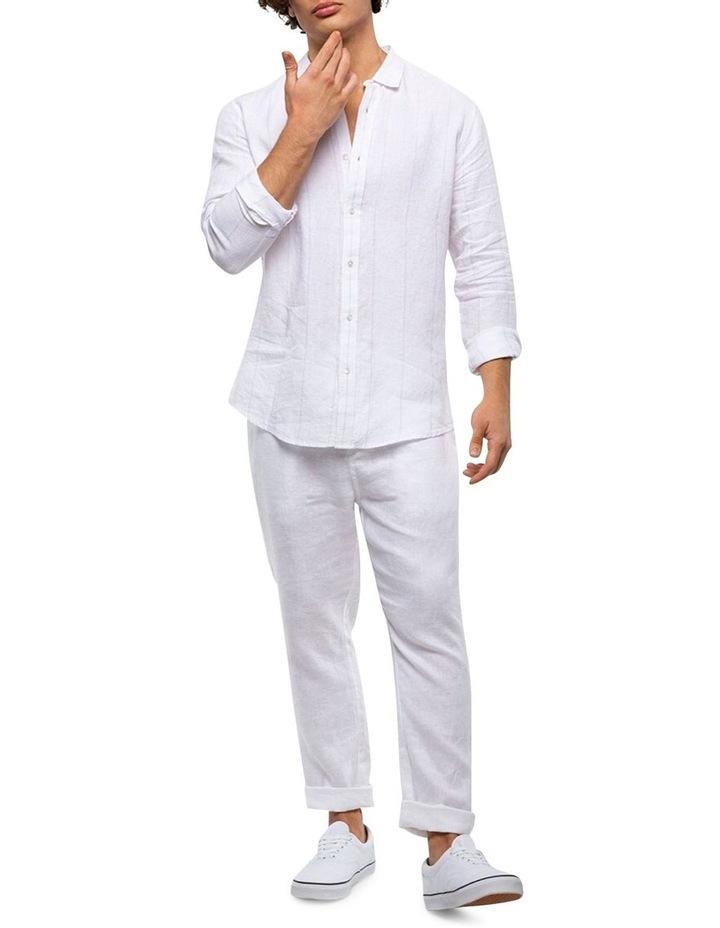 The Key Largo Linen Long Sleeve Shirt image 3