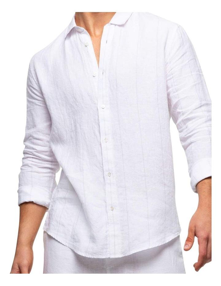 The Key Largo Linen Long Sleeve Shirt image 4