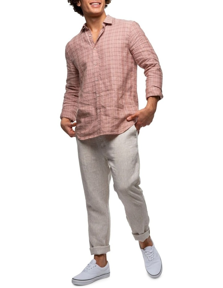 The Costner Linen Long Sleeve Shirt image 3