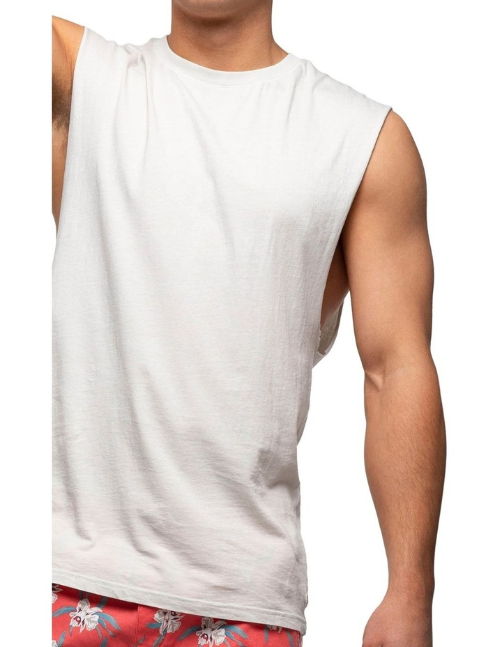 The Triple G Sleeveless Tee image 5