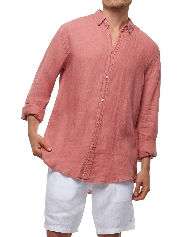 The Tennyson Linen Long Sleeve Shirt image 4