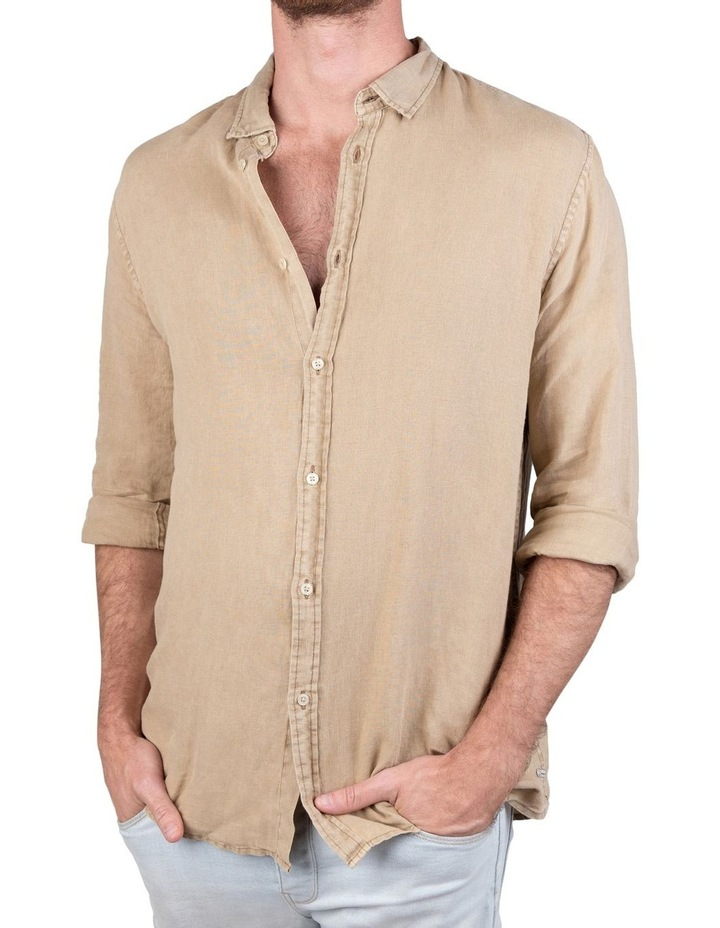 The Tennyson Linen Long Sleeve Shirt image 1