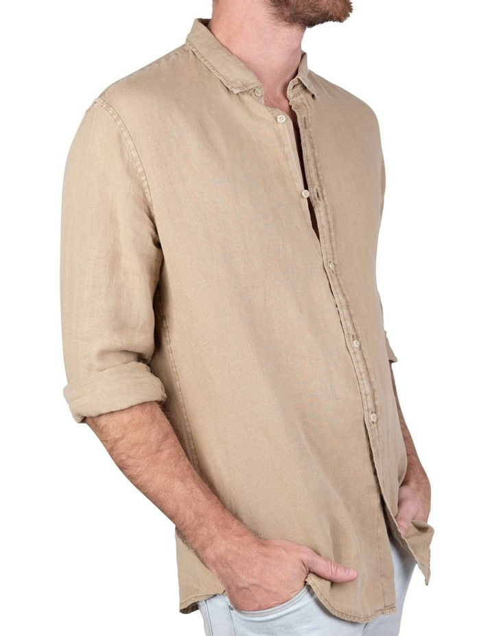 The Tennyson Linen Long Sleeve Shirt image 3