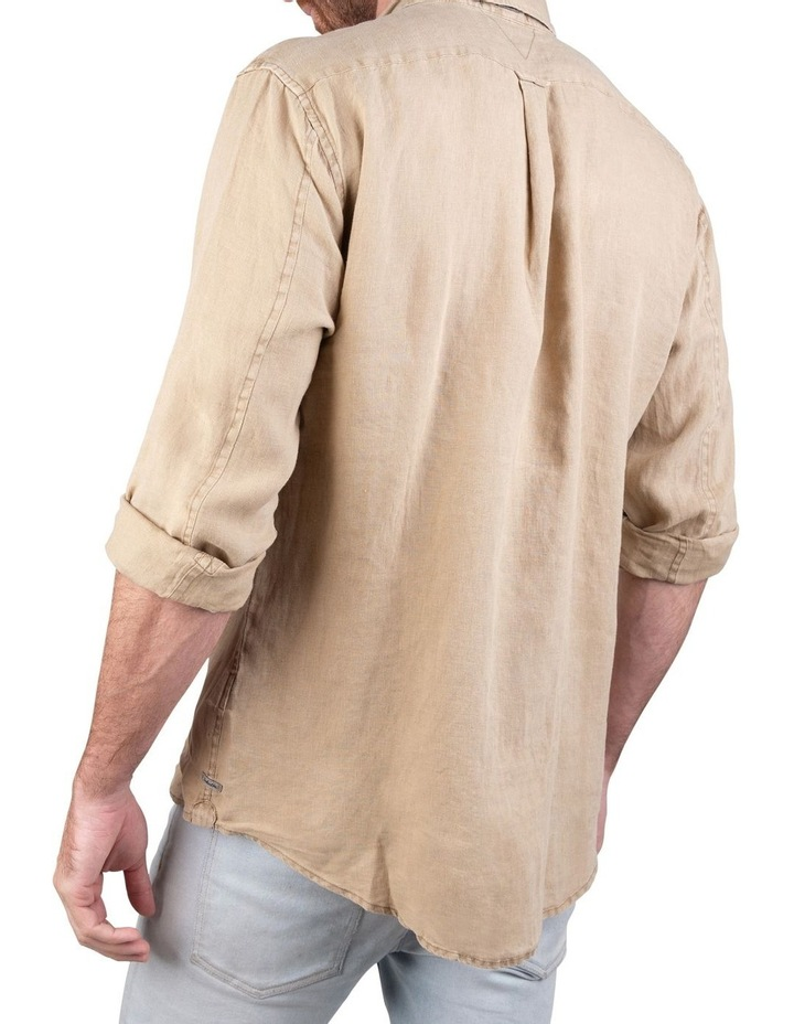The Tennyson Linen Long Sleeve Shirt image 4