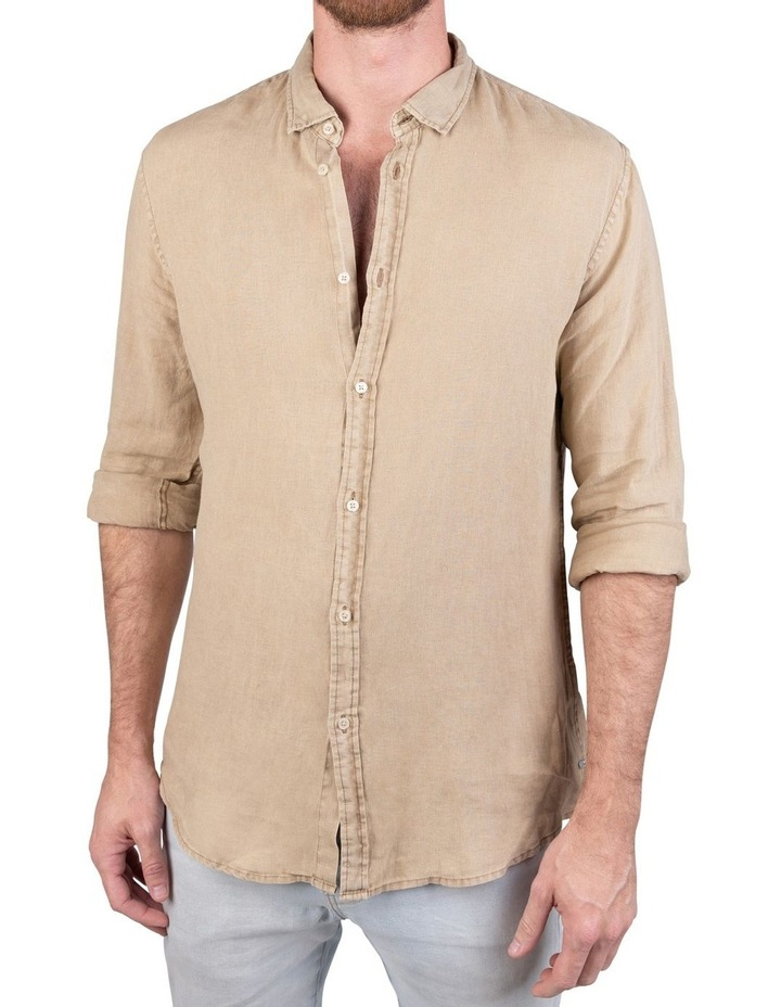 The Tennyson Linen Long Sleeve Shirt image 5