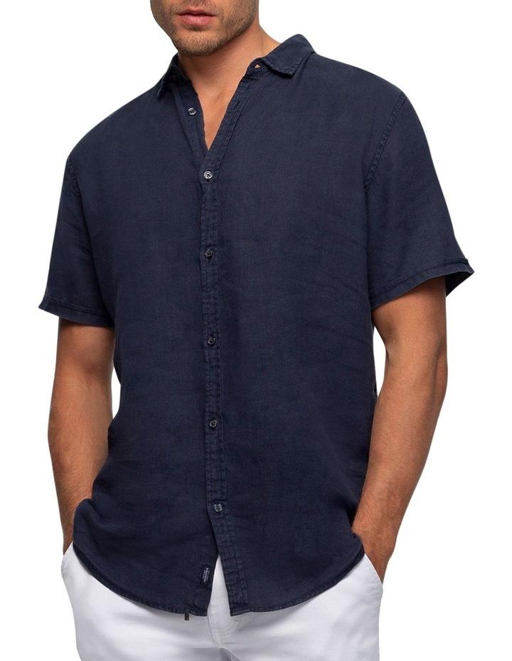 The Tennyson Linen Short Sleeve Shirt image 1
