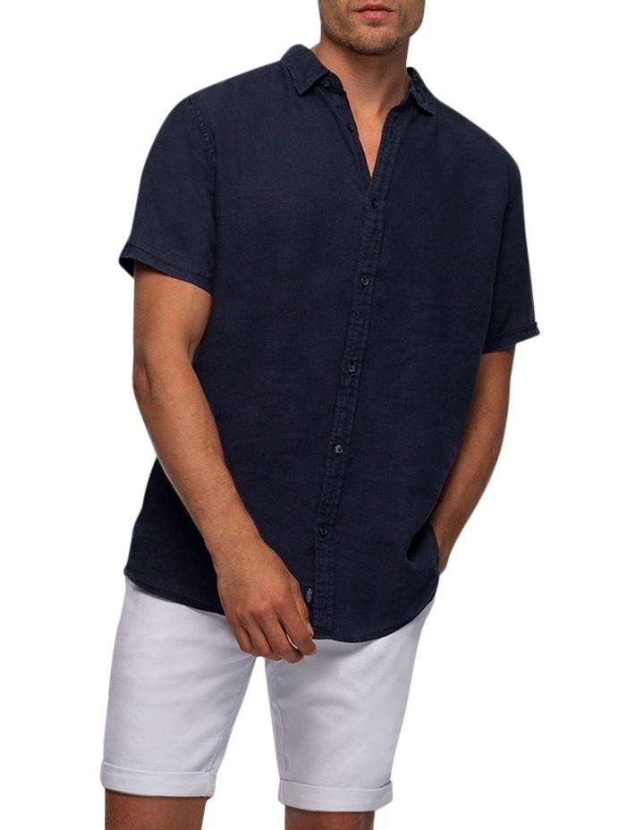 The Tennyson Linen Short Sleeve Shirt image 3