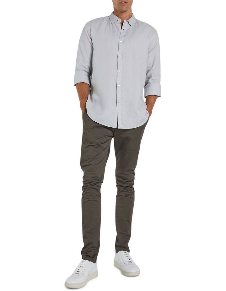 The Tennyson Linen Long Sleeve Shirt image 3