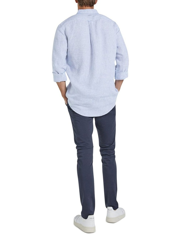 The St Lucia Linen Long Sleeve Shirt image 2