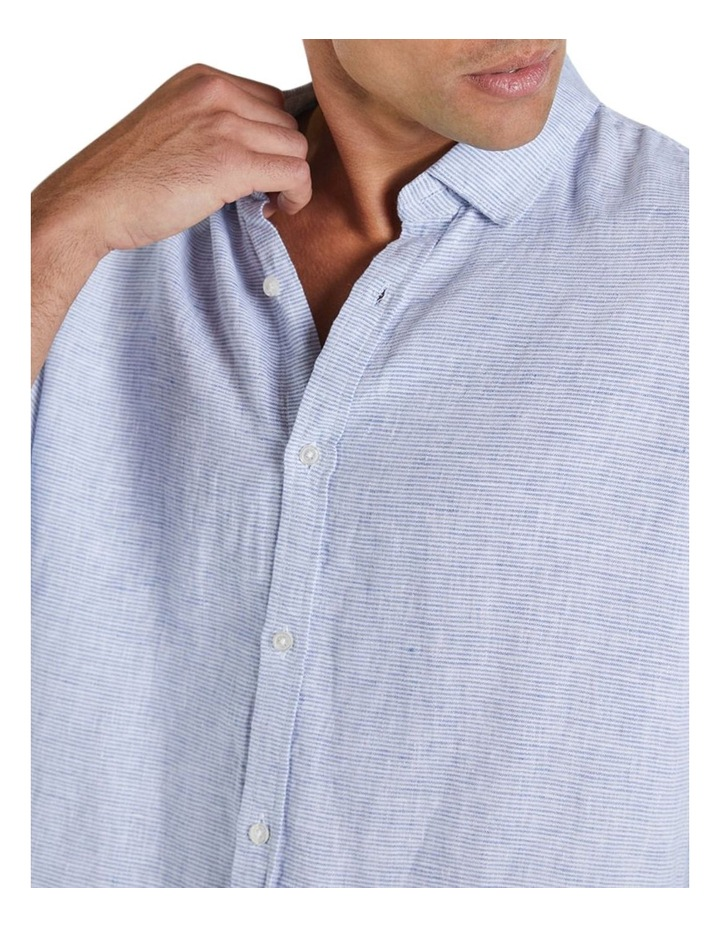 The St Lucia Linen Long Sleeve Shirt image 3