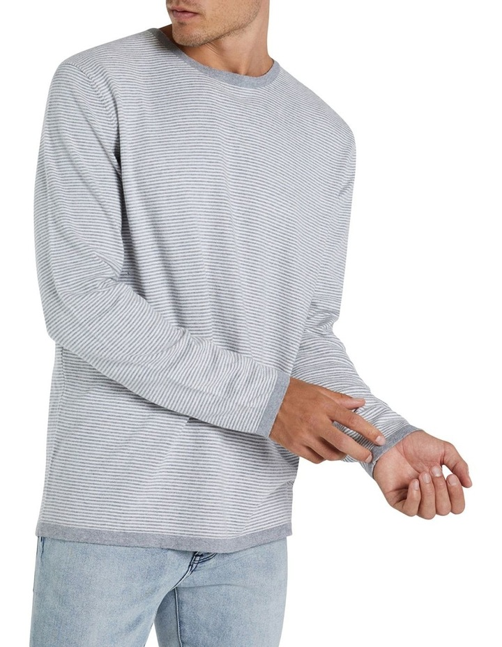 The Cashmere Blend Stripe Knit image 1