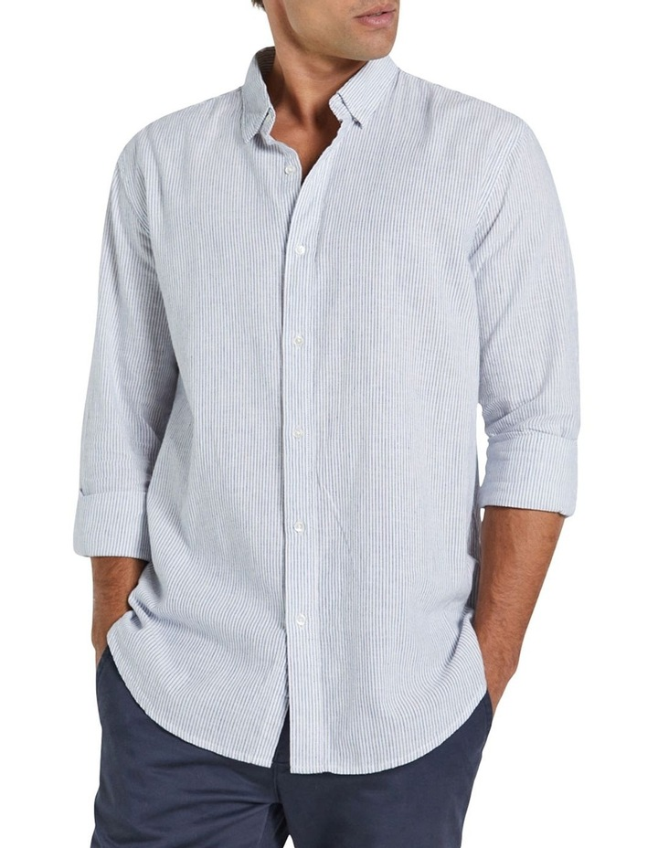 The Jarvis Linen Long Sleeve Shirt image 1