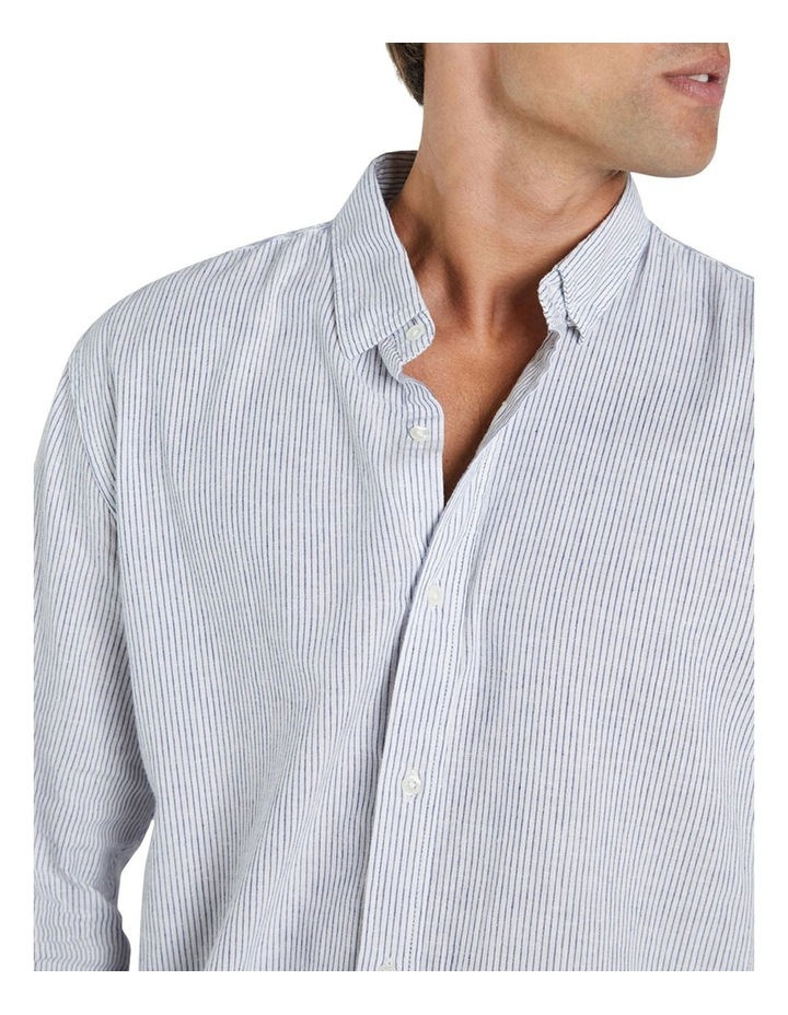 The Jarvis Linen Long Sleeve Shirt image 4