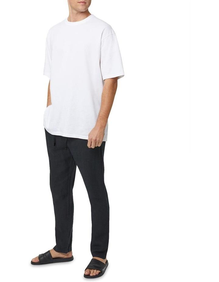 The Santorini Linen Pant - Black image 2