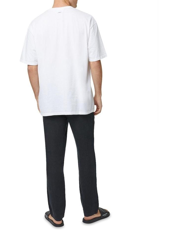 The Santorini Linen Pant - Black image 3