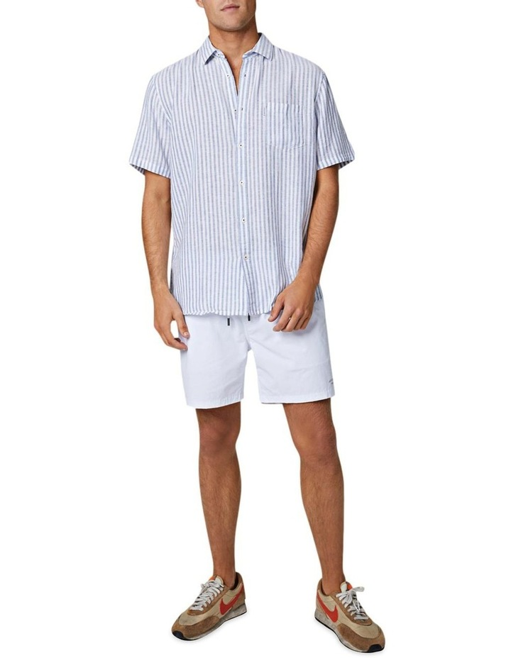 The Wharf Short Sleeve Shirt - Bluewhite image 1