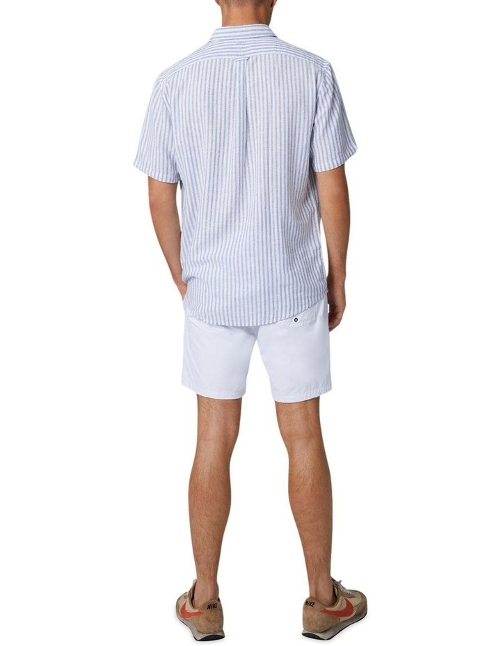 The Wharf Short Sleeve Shirt - Bluewhite image 2