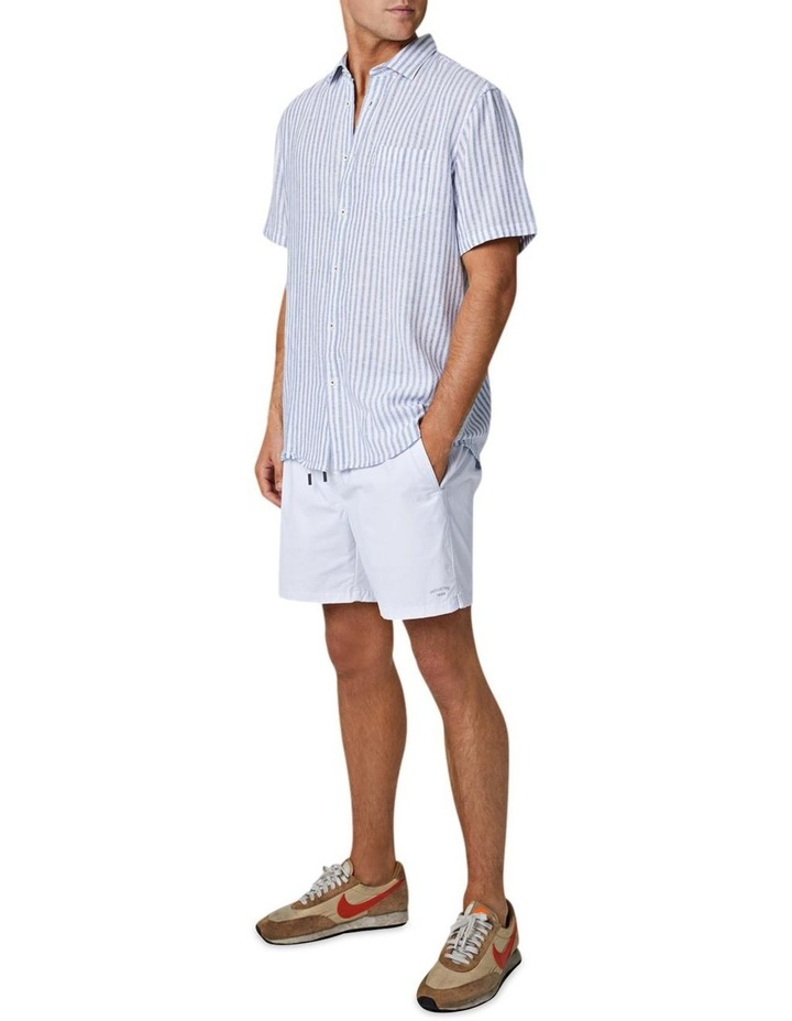 The Wharf Short Sleeve Shirt - Bluewhite image 3