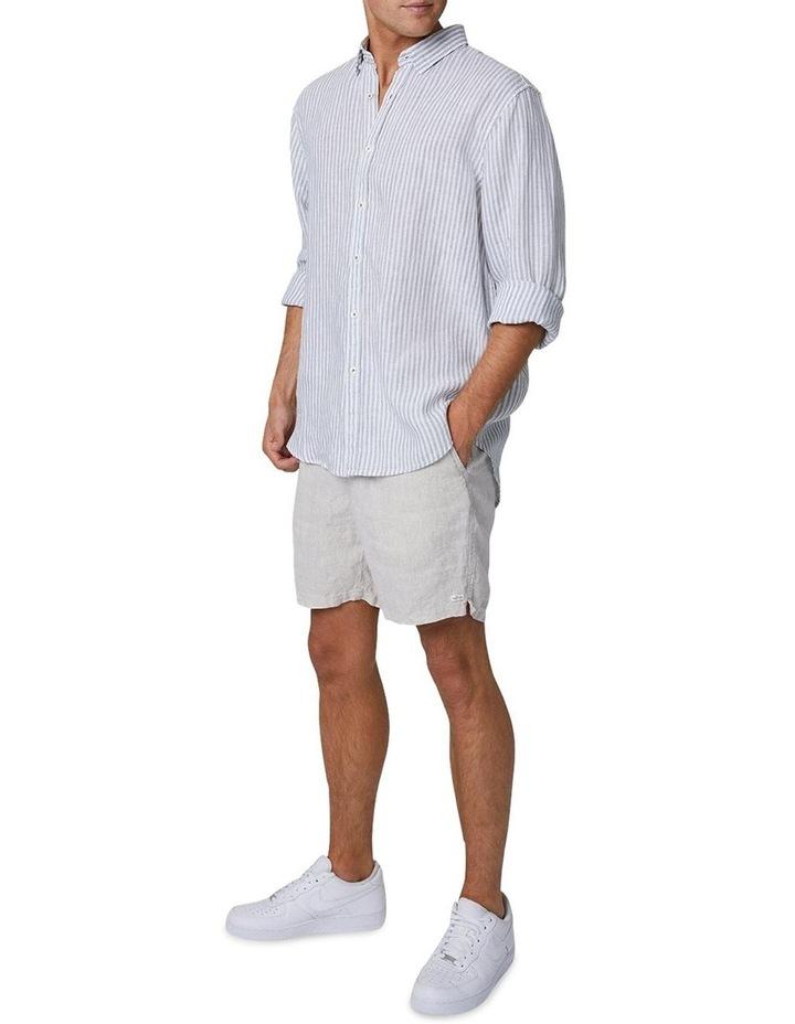The Southwest Linen Long Sleeve Shirt - Sage image 2