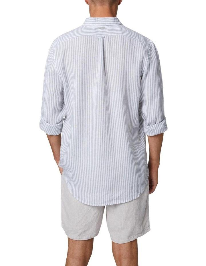 The Southwest Linen Long Sleeve Shirt - Sage image 3