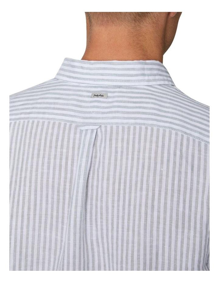 The Southwest Linen Long Sleeve Shirt - Sage image 4