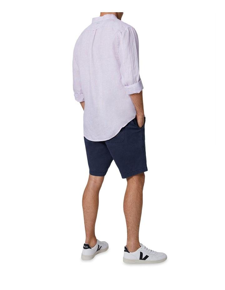 The Palmetto Long Sleeve Shirt - Rose/Chambray image 3