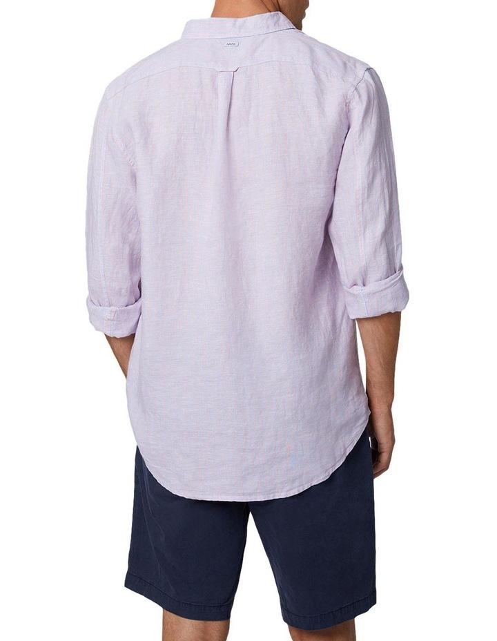 The Palmetto Long Sleeve Shirt - Rose/Chambray image 4