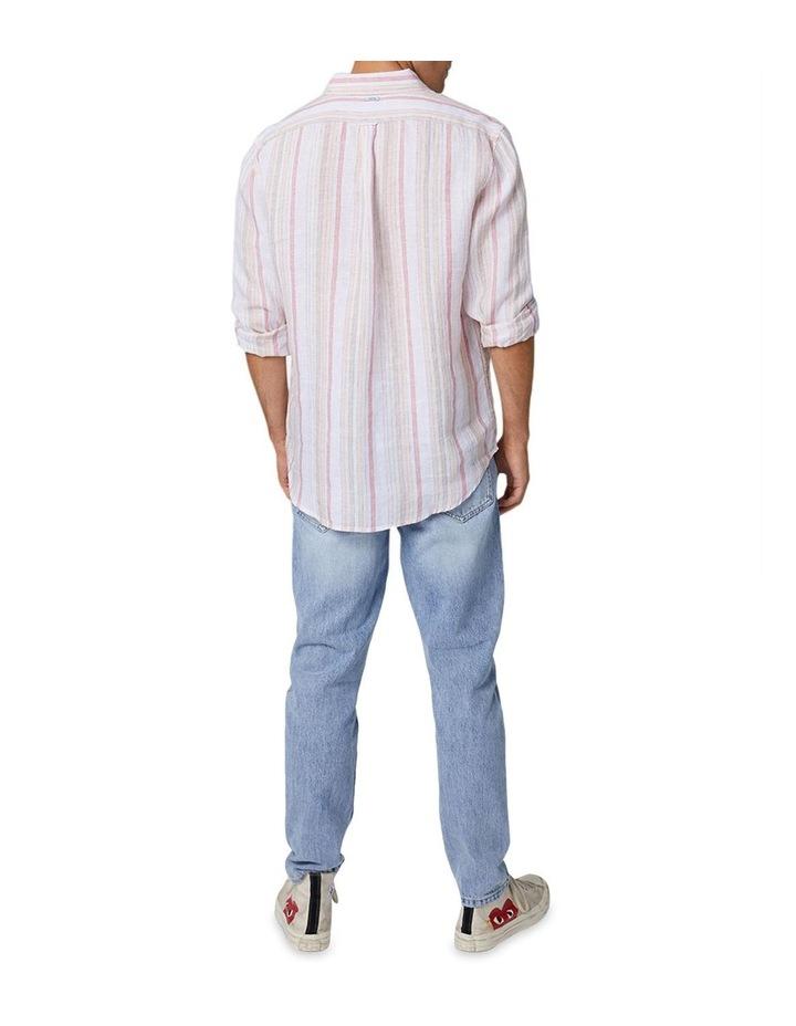 The Amalfi Long Sleeve Shirt - Peach image 2