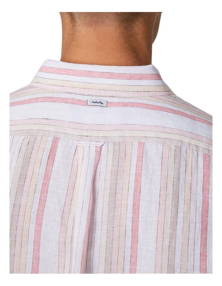 The Amalfi Long Sleeve Shirt - Peach image 4