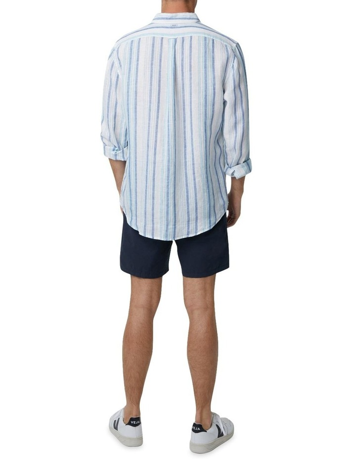 The Amalfi Long Sleeve Shirt - Marine image 3
