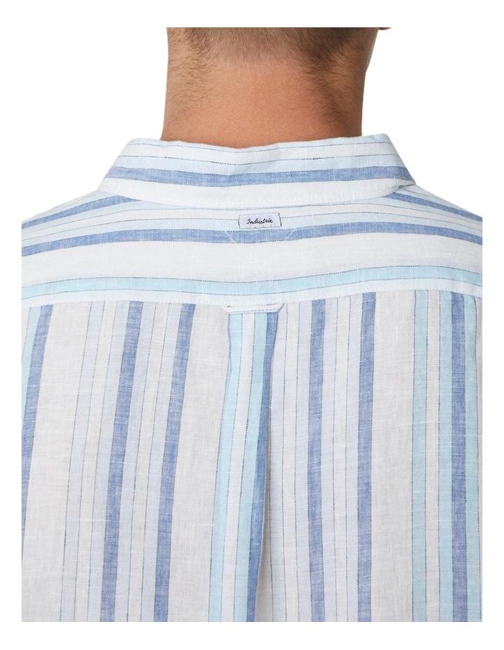 The Amalfi Long Sleeve Shirt - Marine image 4