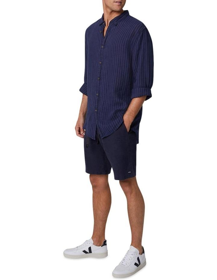 The Camnen Long Sleeve Shirt - Navy image 2