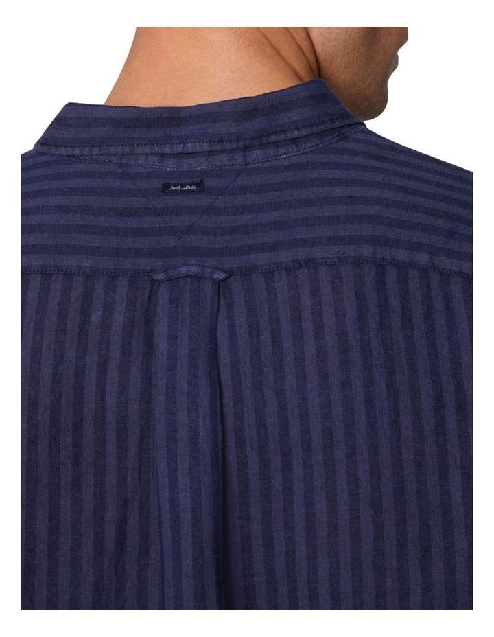 The Camnen Long Sleeve Shirt - Navy image 4
