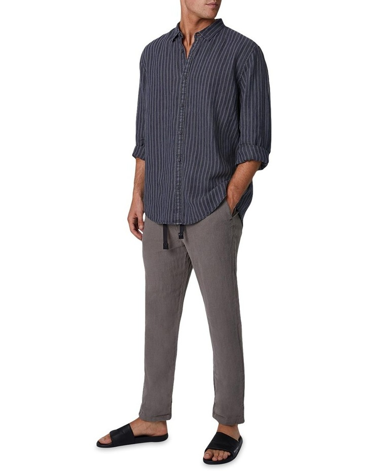 The Chartres Long Sleeve Shirt - Anthracite image 1