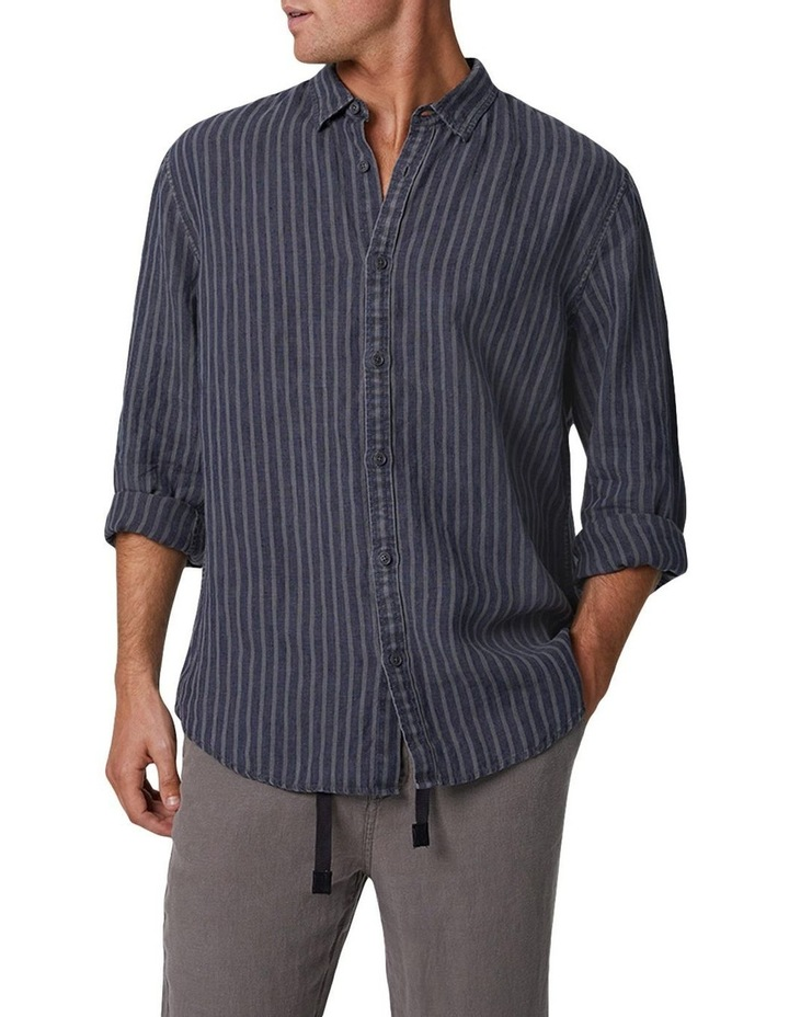 The Chartres Long Sleeve Shirt - Anthracite image 2