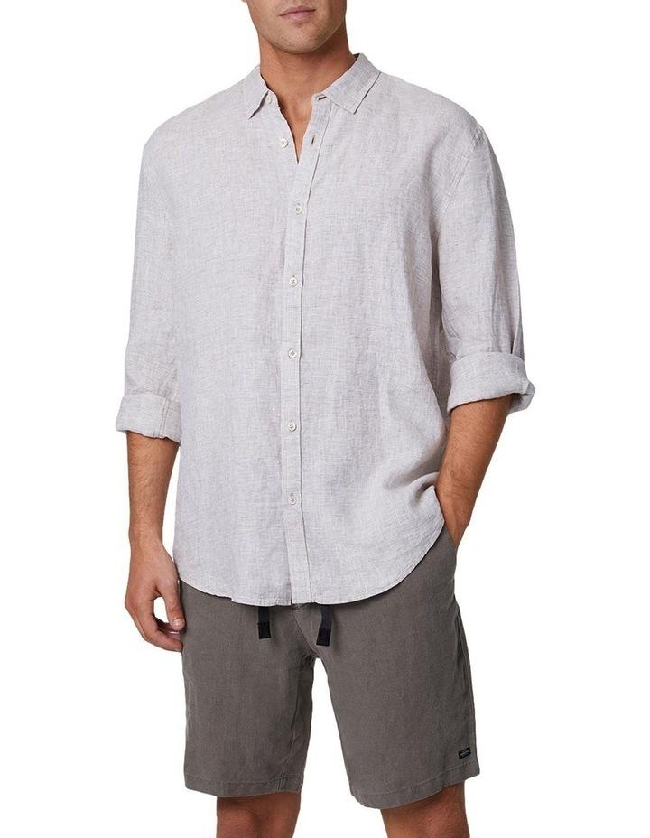 The Newry Long Sleeve Shirt - Wheat image 1
