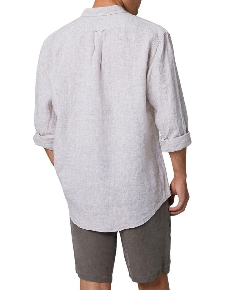 The Newry Long Sleeve Shirt - Wheat image 3