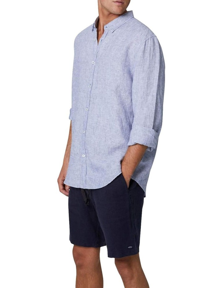 The Newry Long Sleeve Shirt - Light Blue image 1