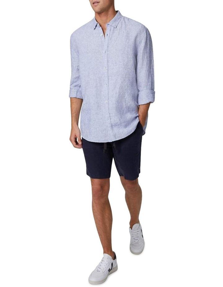 The Newry Long Sleeve Shirt - Light Blue image 2