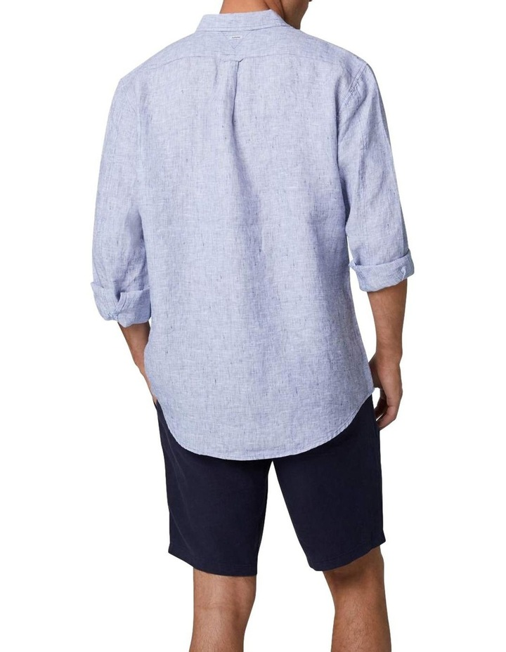 The Newry Long Sleeve Shirt - Light Blue image 3