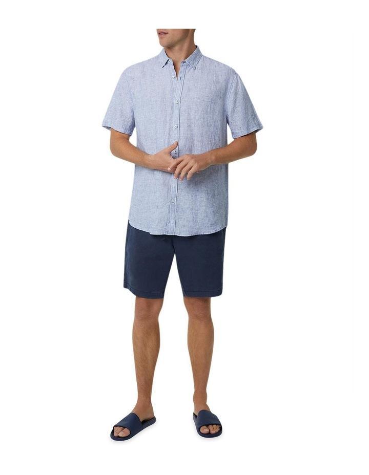 The Newry Short Sleeve Shirt - Salt N Pepper image 1