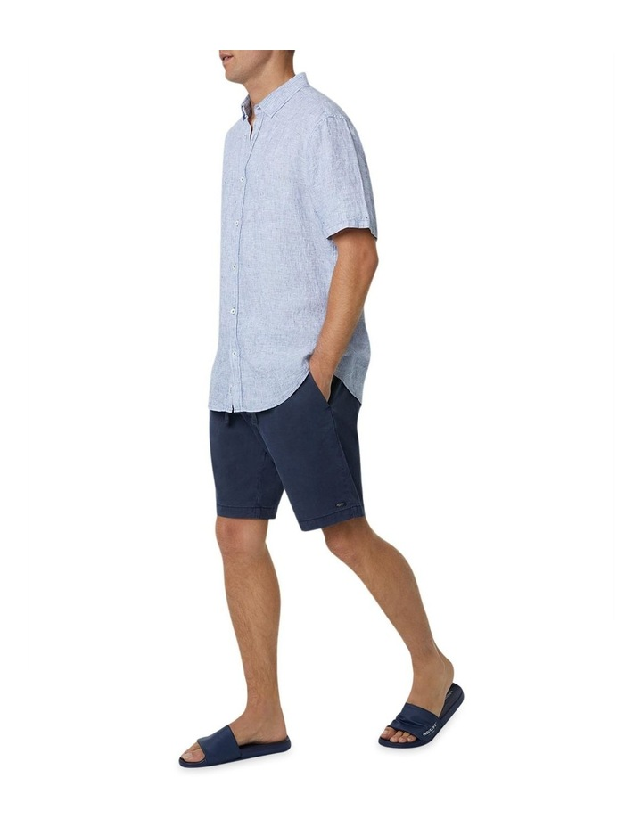 The Newry Short Sleeve Shirt - Salt N Pepper image 4