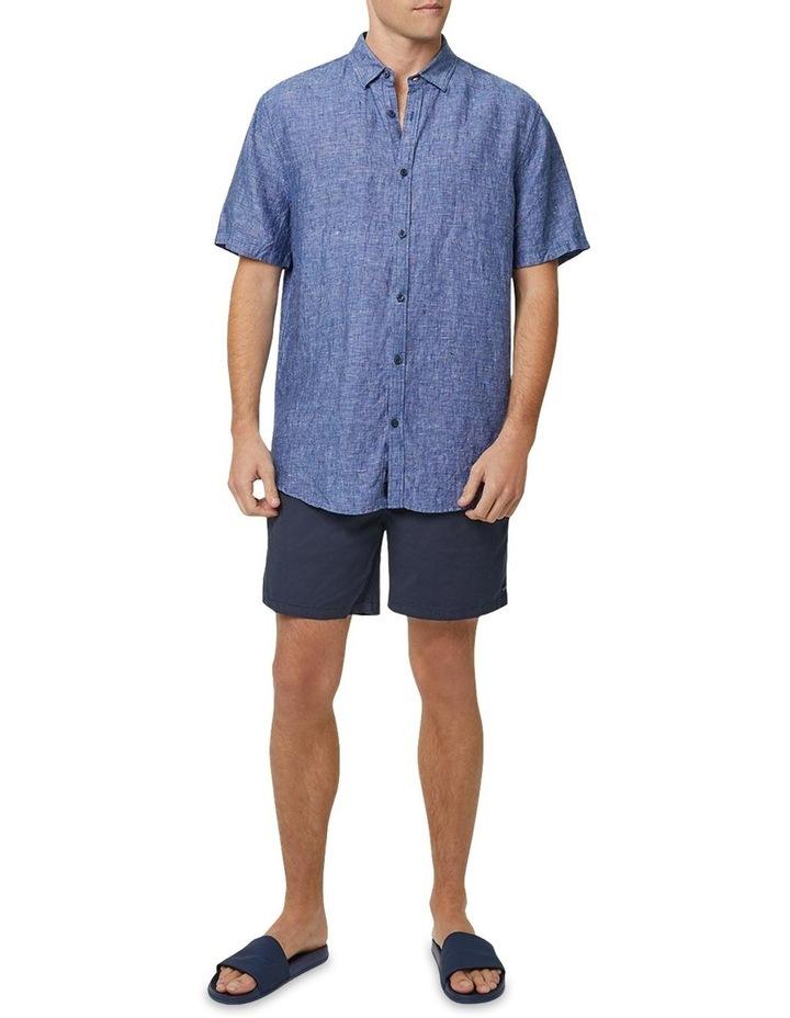 The Newry Short Sleeve Shirt - Navy image 2
