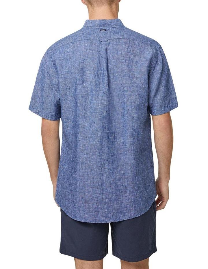 The Newry Short Sleeve Shirt - Navy image 3