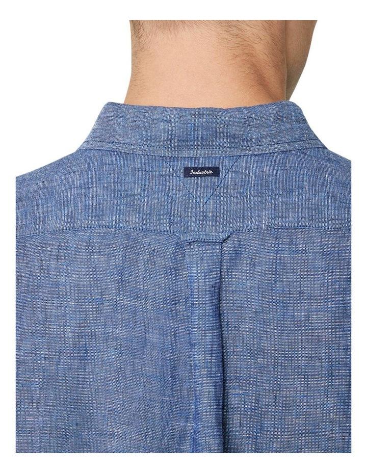 The Newry Short Sleeve Shirt - Navy image 4