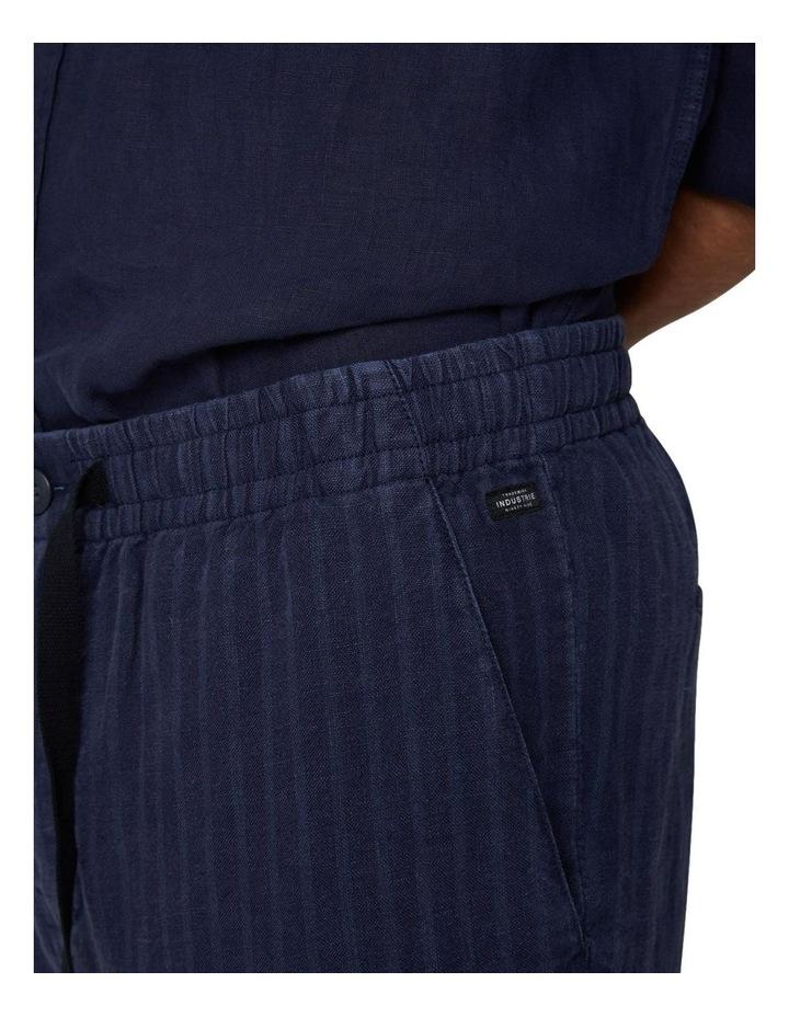 The Batiste Linen Pant - Navy image 3
