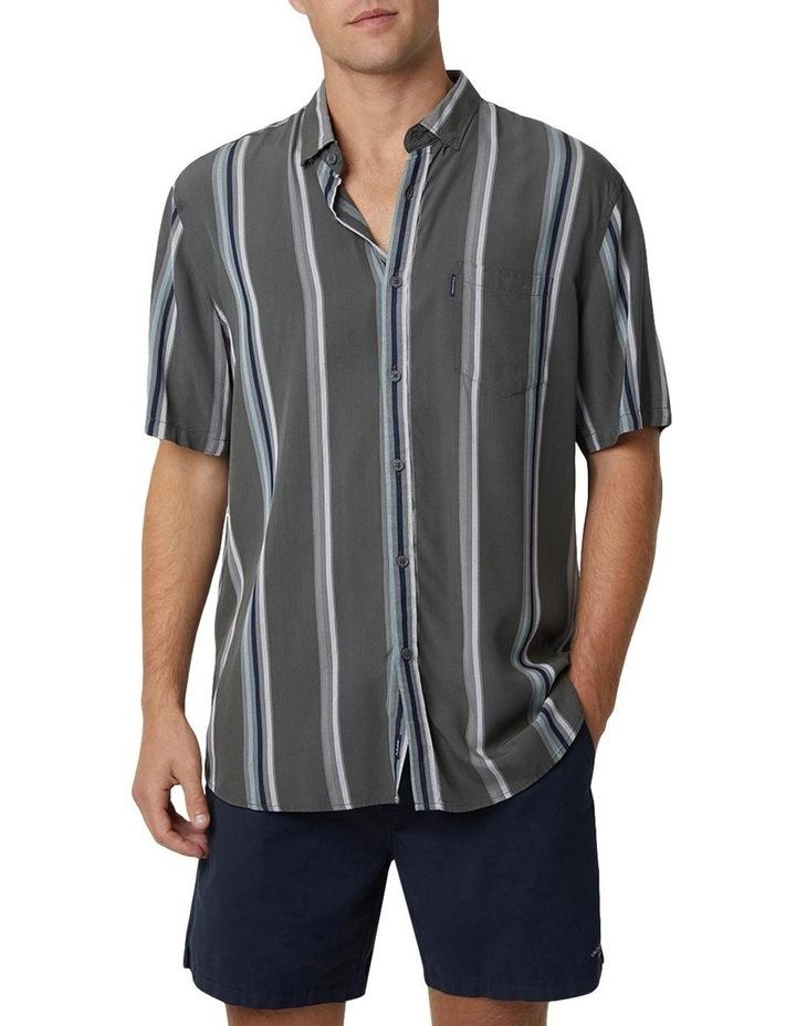 The Ortiz Short Sleeve Shirt - Olive image 1