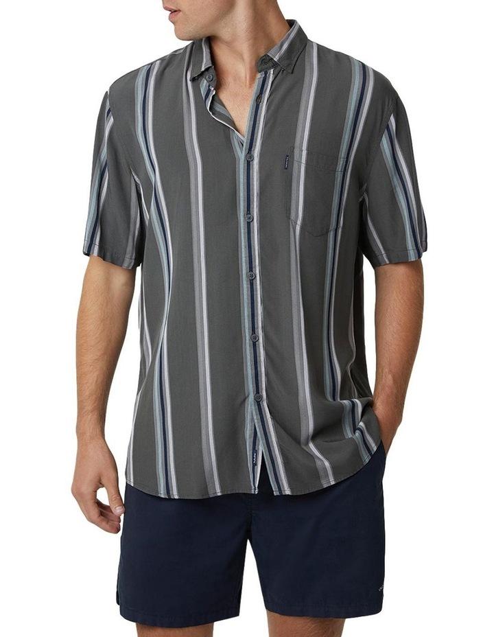 The Ortiz Short Sleeve Shirt - Olive image 3