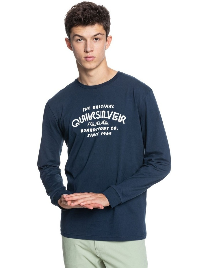 Mens Wilder Mile Long Sleeve T-Shirt image 1