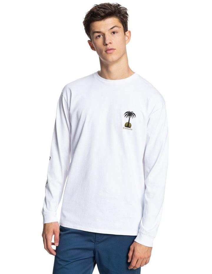 Mens Desert Snake Organic Long Sleeve T-Shirt image 1